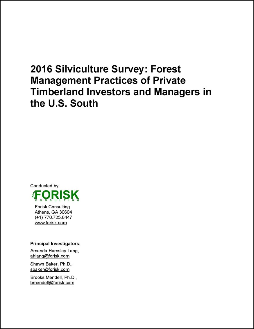 2016 Southern Silv Survey Article Title Page
