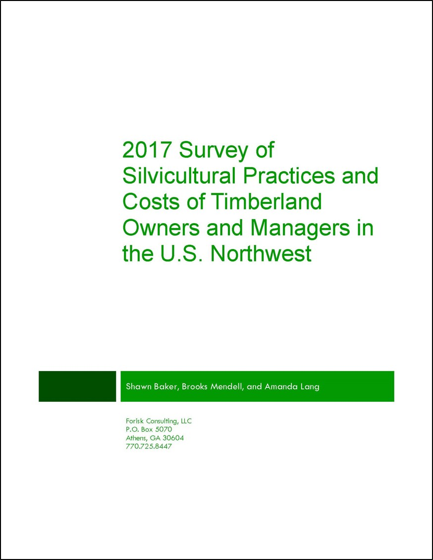 FRQ Cover Page_Q2 2017_Western Silv. Survey_Costs 1
